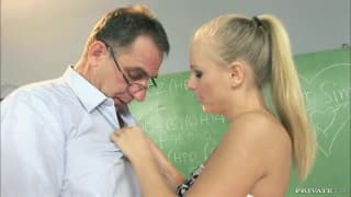 Barbie White is in love with her old teacher