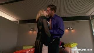 Nina Hartley and Tara Lynn Foxx in a threesome
