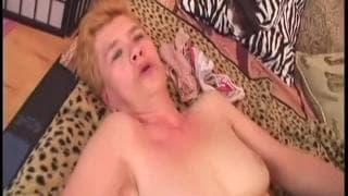 Grandma Jaja fucks with all her energy