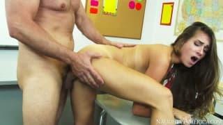 Cassidy Klein and Preston Parker in a hot scene