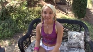 Sienna Splash is a young teen fucking well