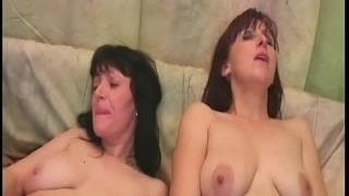 Martina and Jana masturbate together