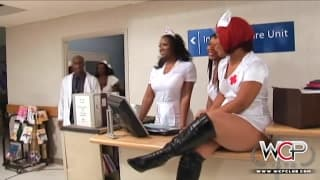 WCP CLUB - black horny nurses