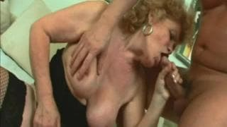 Renata is a blonde grandma who loves to fuck