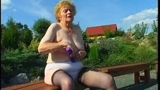 Miroslava is a grandma who loves sex