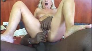 Zsoka is a granny who loves black cock