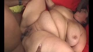 Rikki Waters is a fat slut who loves black cock