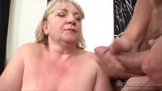 This granny loves to fuck younger guys