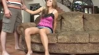 Chrissy Cane loves to fuck on the couch