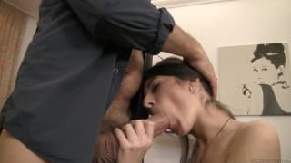 Nessa A has her ass penetrated for the first time