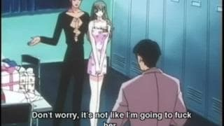 Young hentai's can't resist fucking together
