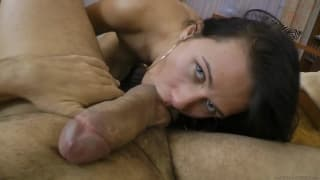 Aisis is a horny brunette dying for a fucking