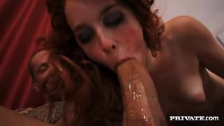 Amarna Miller is a fiery redhead who loves to fuck hard