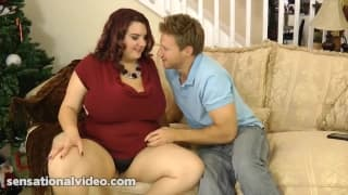 Charlie is a very hot fat redhead