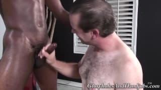 Black gays enjoy hardcore bareback slam on web camera