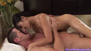 Jackie Lin is the best sexual masseuse