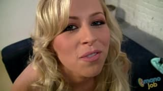 Zoey Monroe is a blonde who loves POV