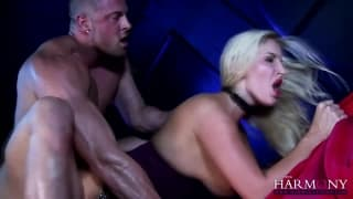 Big tit blonde gets it hard and deep!