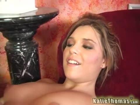 Katie tomas fist slut load
