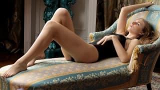 The sublime Irina quietly masturbates