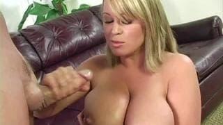 Brandy Talore is a Milf who loves handjobs
