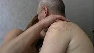 This amateur redhead wants his cock
