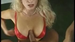 This blonde milf is a blowjob expert