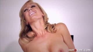 Brett Rossi gives us a hot masturbation scene