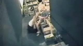Two naughty lesbians fuck at work