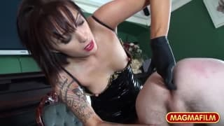 Amica Bentley is a kinky dominatrix