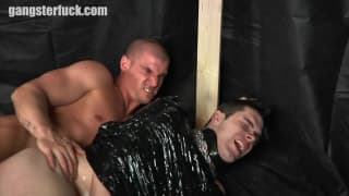 These gay guys enjoy pain with pleasure.