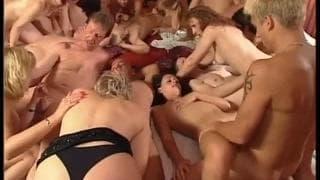 énorme Dick orgie