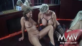 Gina Blonde and friends have some fun