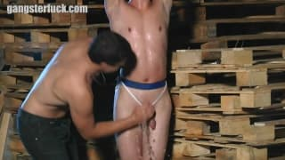 A brutal and tasty gay sexual domination