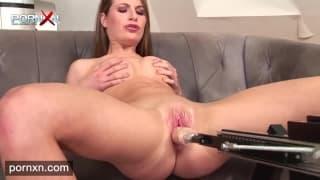 Leanna Sweet masturbates for pleasure