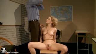 Lily Labeau enjoys some bdsm with this guy