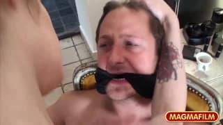Mandy Slim dominates her man!