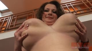 Anna Beck is a slut with huge tits!