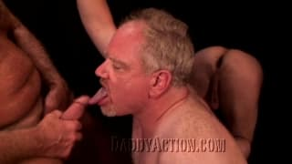 Two mature gay men who love sex!
