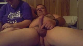 Amateur mature fucking in front of the camera