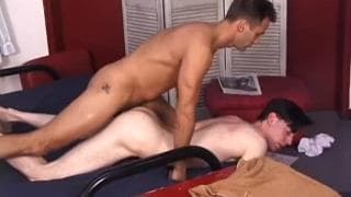A mature man who loves getting anal