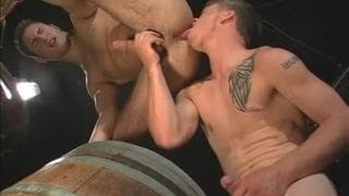 Hot intense poundings between two men!