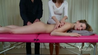 A very sensual and sexy massage!