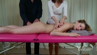 A very sensual and sexy massage!