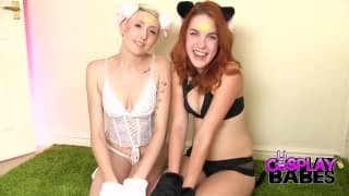 Amarna Miller fucks with Molly Dae