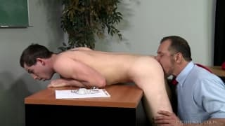 A mature teacher sodomizes his student!