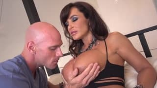 Lisa Ann really enjoys a big dick to fuck