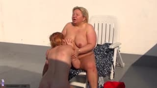 These two women love to play outdoors