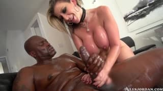 Sara Jay is a pornstar who loves black dick