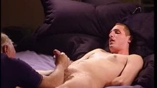 Mature man loves to dominate a young twink